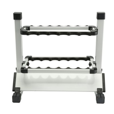 HONOREAL 12-rod Portable Aluminum Fishing Rod Display Rack