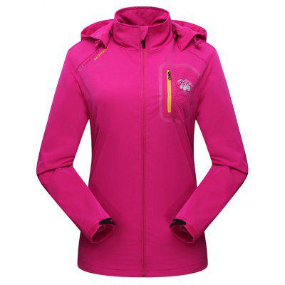 2017 New Women's Fashion Breathable Water Proof Hardshell