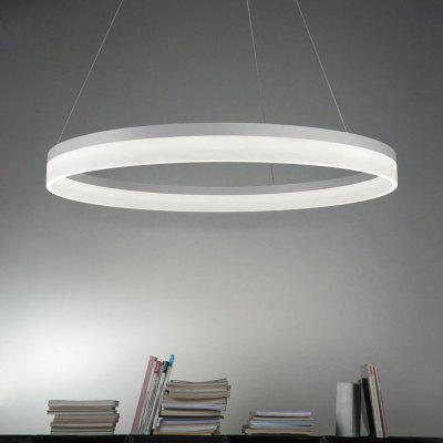 Modern LED Pendant Light Painting Acrylic Aluminium for Dining Living Room