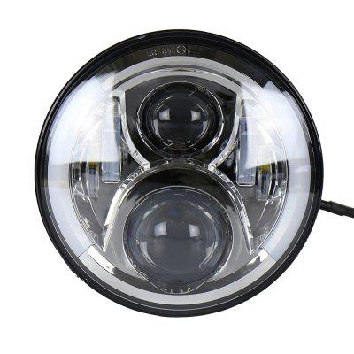 7inch Motorcycle LED Headlight Install for Harley Davidson Hi and Lo Beam Lamp Light