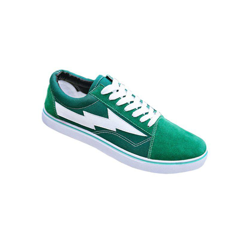 Green 'Lightening' flat shoes discount 2015 new cheap sale 100% guaranteed 18x1S8TXC