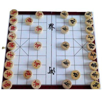 Chinese Chess Wooden Upset Develop Brain