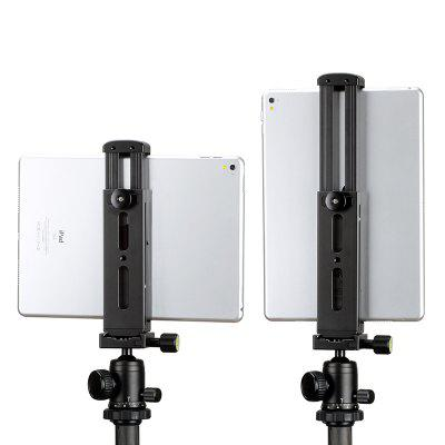Ulanzi Aluminum Tripod Mount with Cold Shoe Mount Tablet Tripod Adapter Holder with Quick Release Plate for All Kinds iP
