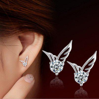 New High Quality Fashion Female Angel Wings Wings Earrings Earrings Fashion