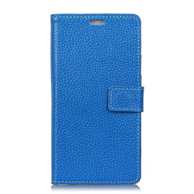 Cowhide Genuine Leather Wallet Stand Case for Sony XZ1