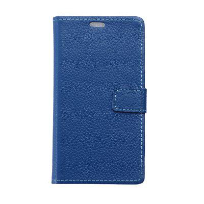 Cowhide Genuine Leather Wallet Stand Case for Wiko Harry