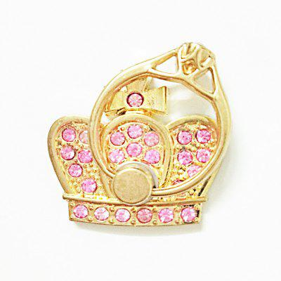 Crown Diamond Cell Phone Ring Holder Stand for Hand Kickstand for Hand Grip Finger Ring Anti-slip