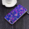 Blue Glitter Rosas Pattern Phone Case para iPhone 8 Plus - RUBI