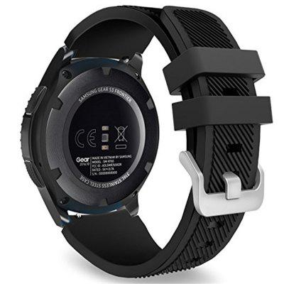 Soft Silicone Replacement Sport Strap a Samsung Gear S3 Frontier / Classic modellhez