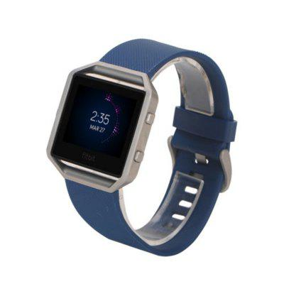 Soft Silicone Adjustable Replacement Sport Band Strap with Quick Release Pins for Fitbit Blaze