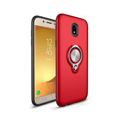 Shock Absorption Dual Cover Design Phone Ring Holder Anti-Scratch Protective for Samsung Galaxy Case J5 2017