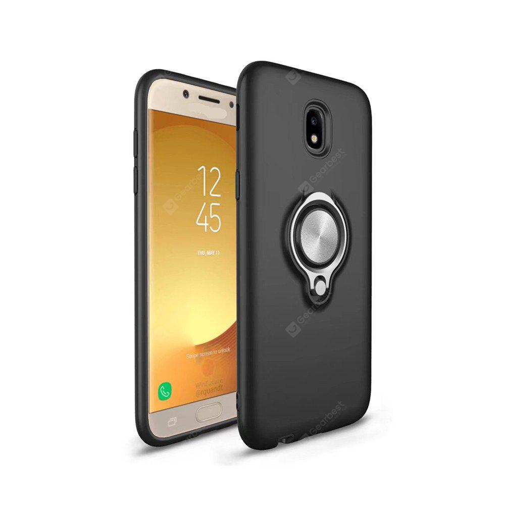 Shock Absorption Dual Cover Design Phone Ring Holder Anti-Scratch Protective for Samsung Galaxy J7 2017 Case