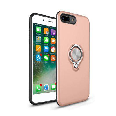 Shock Absorption Dual Cover Design Phone Ring Holder Anti-Scratch Protective Case for iPhone 8 Plus / 7Plus