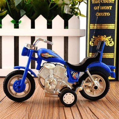 Plastic Motorcycle Toy Model