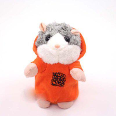 Talking Hamster DJ Hamster Sound Recording Repeats What You Say Plush Toy