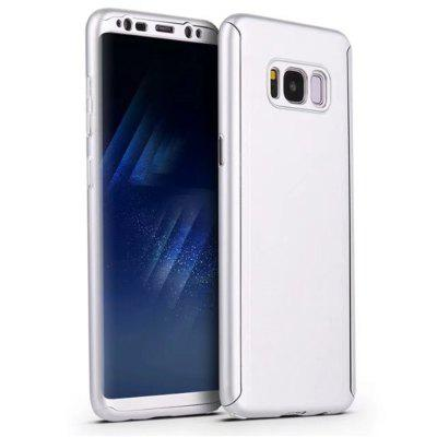 Full PC Back Cover Funda Complete All Around with Tempered Glass Case for Samsung Galaxy S8