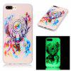 Deer Head Luminous Ultra Thin Slim Soft TPU caso de silicone para iPhone 7 Plus / 8 Plus - COLORIDO