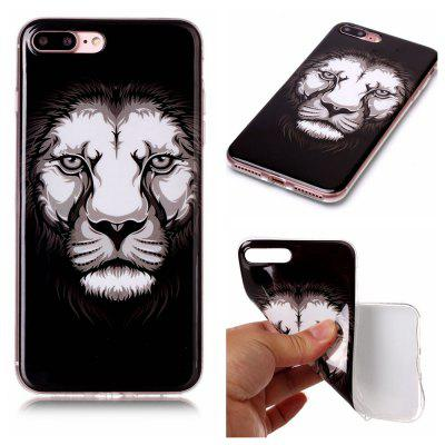 Lion Ultra Thin Slim Soft TPU Silicone Case for iPhone 7 Plus/8 Plus