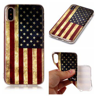 National Flag Ultra Thin Slim Soft TPU Silicone Case for iPhone X