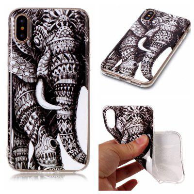 Elephant Ultra Thin Slim Soft TPU Silicone Case for iPhone X