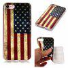 National Flag Ultra Thin Slim Soft TPU Silicone Case para iPhone 7/8 - COLORIDO