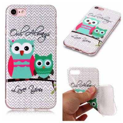 Buy Owl Ultra Thin Slim Soft TPU Silicone Case for iPhone 7 / 8, COLORFUL, Mobile Phones, Apple Accessories, iPhone Accessories, iPhone Cases/Covers for $1.38 in GearBest store