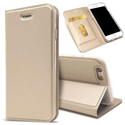 New Luxury Flip Card Slot Sutiã magnética PU Leather Cover para iPhone 6 / 6s