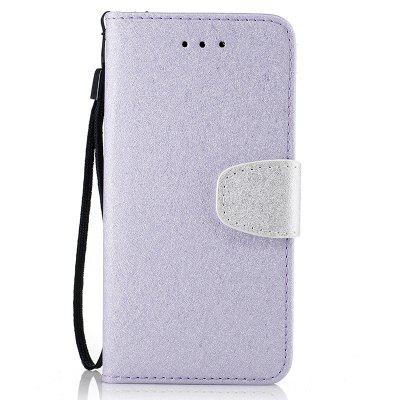 Custodia in pelle PU con texture a doppio colore naturale in seta con slot per carte Wallet per Xiaomi RedMi Note4