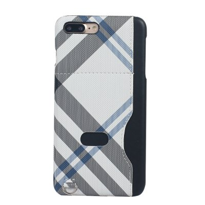 Grid Seven Pattern PU Leather All Encompassing Case for iPhone 7 Plus / 8 Plus