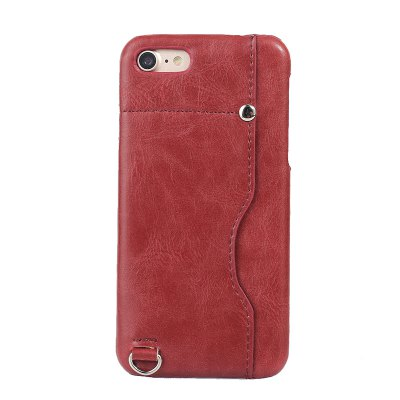 Crazy Horse Stripes PU Leather All Encompassing Case for iPhone 7 / 8