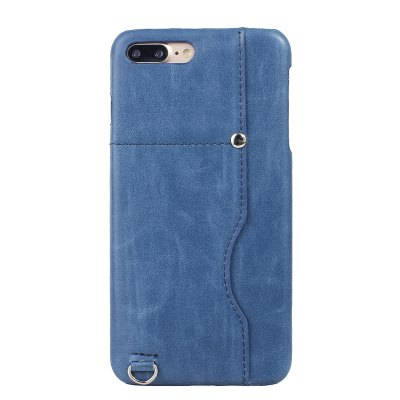 Crazy Horse Stripes PU Leather All Encompassing Case for iPhone 7 Plus / 8 Plus