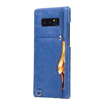Crazy Horse Stripes PU Leather All Encompassing Case for Samsung Galaxy Note 8