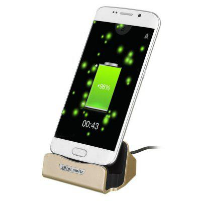 Minismile Micro USB Charging Dock with Data Charging Cable for Android Phones