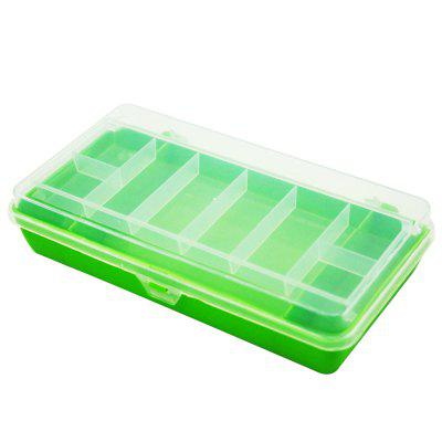 Square Waterproof  Plastic Tackle  Fishing Lure Box