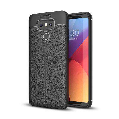 Shockproof Back Cover Solid Color Soft TPU Case for LG G6 / G6 Pro