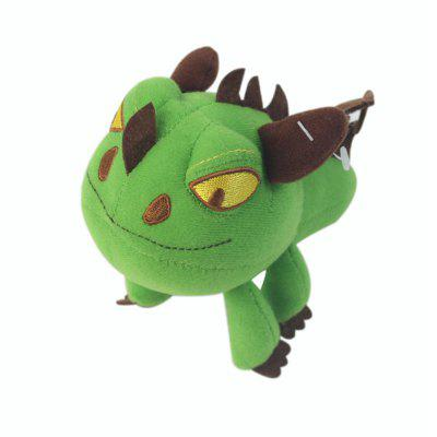 Q Version Green Dragon Animal Plush Doll Stuffed Toy