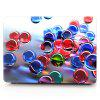 Computador Shell Laptop Case Keyboard Film para MacBook Air 11.6 inch 3D Glass Ball - AZUL