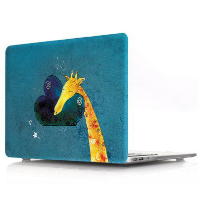 все цены на Computer Shell Laptop Case Keyboard Film for MacBook Pro 13.3 inch Touch 2016 3D Color Painting Fawn онлайн