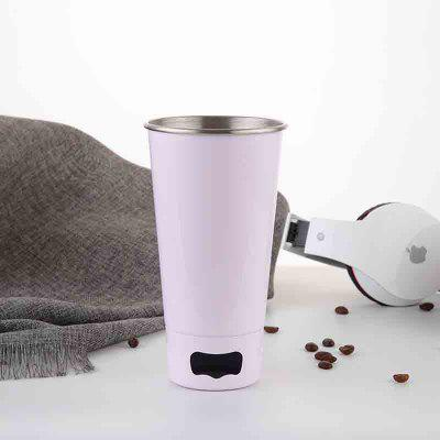 Buy WHITE Stainless Steel Beer Mug with Bottle Opener for $11.52 in GearBest store