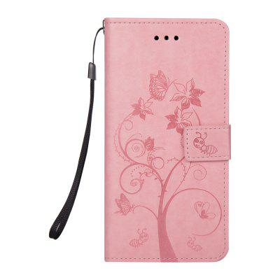 Ants On The Tree Flip PU Leather Dirt Resistant Case for iPhone 7 Plus
