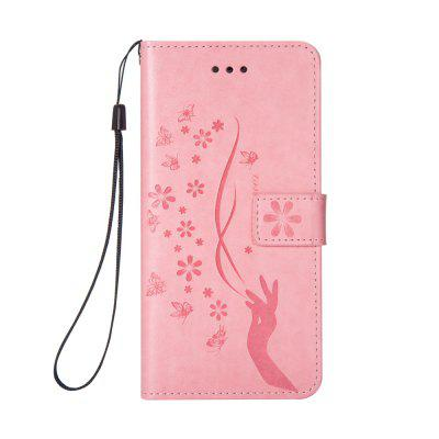 Slender Hand PU Leather Dirt Resistant Phone Case for iPhone 7 PLUS