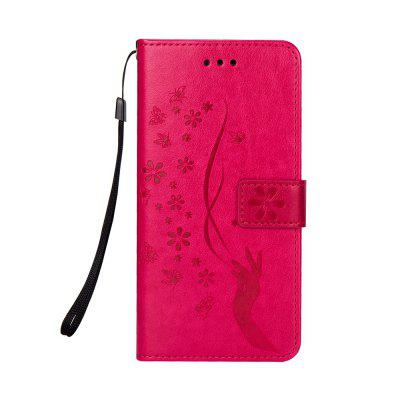 Slender Hand PU Leather Dirt Resistant Phone Case for Samsung Galaxy Note 8
