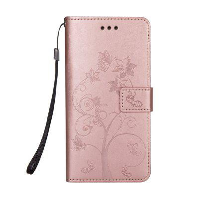 Ants On The Tree PU Leather Dirt Resistant Phone Case for Samsung Galaxy Note 8