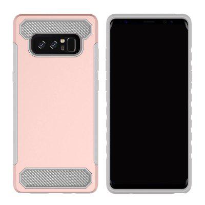 Carbon Fiber 2 In 1 Soft Tpu Protector Phone Case for Samsung Galaxy Note 8