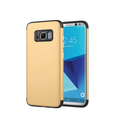 Luxury Shockproof Back Cover Carbon Fiber TPU + PC Protective for Samsung Galaxy S8 Plus
