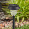 2PCS Plástico Solar Powered LED Light Pathway Landscape Garden Yard - BLANCO CÁLIDO