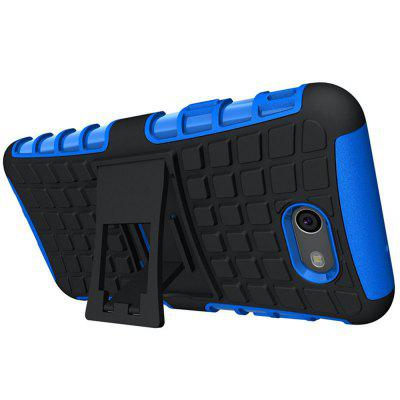 Tough Rugged Dual Layer Protective Case with Kickstand for Samsung Galaxy J7 2017 Case