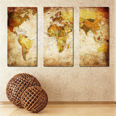 Restro Frameless Canvas Prints for Home Decoration 3pcs - $9.28 Free ...