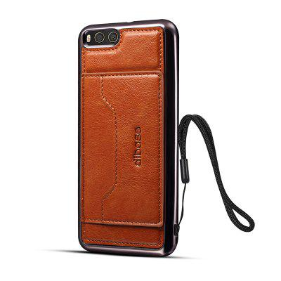 Electroplating TPU Crazy Horse Pattern Case for Xiaomi Mi 6