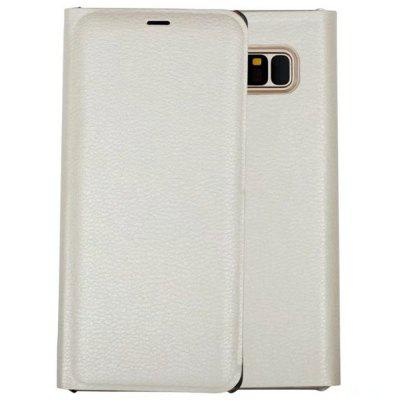 Card Holder Flip Full Body Solid Color Hard PU Leather Case for Samsung Galaxy Note 8